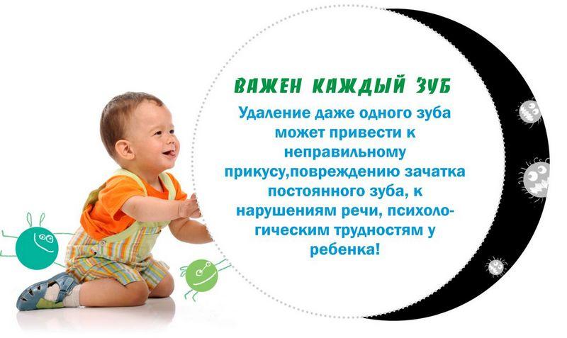 Безболезнное удаление молочных зубов в Смиферополе