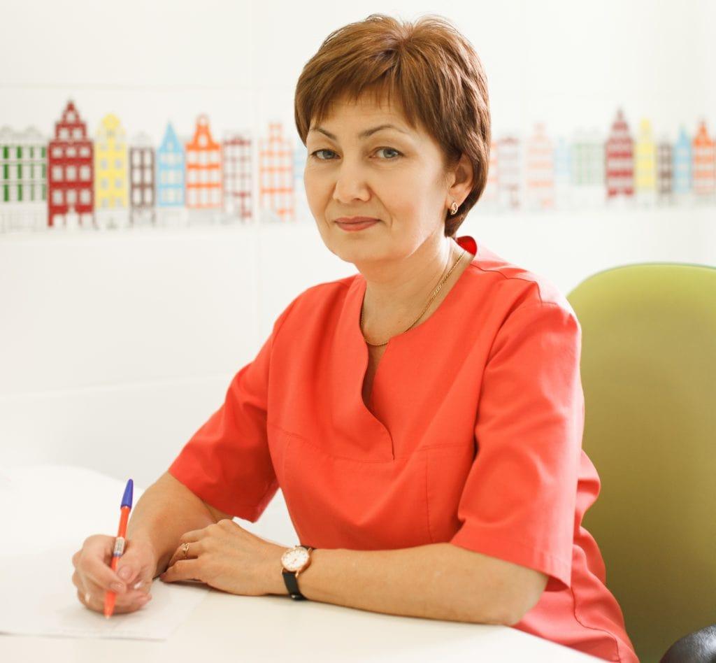 врач-травматолог-ортопед Гралова Эльвира Пулатжановна