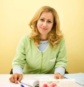 врач-офтальмолог первой категории Тельнова Ирина Юрьевна
