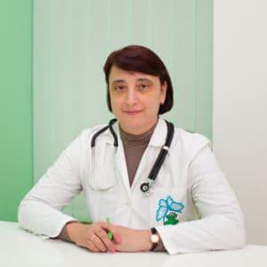 врач-пульмонолог высшей категории, кандидат медицинских наук Бабак Марина Леонидовна
