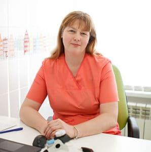 врач-оториноларинголог высшей категории Баньковская Елена Леонардовна